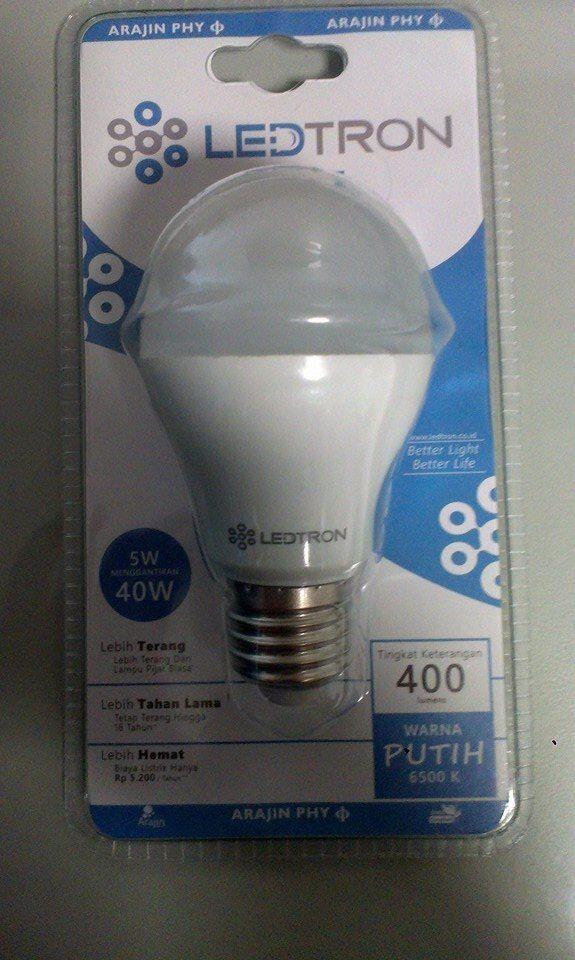 Lampu LED 5 Watt LED Tron Phy MURAH!! Rp.28rb/biji