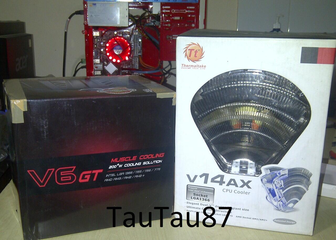 Cooler Master V6GT v.s Thermaltake V14AX