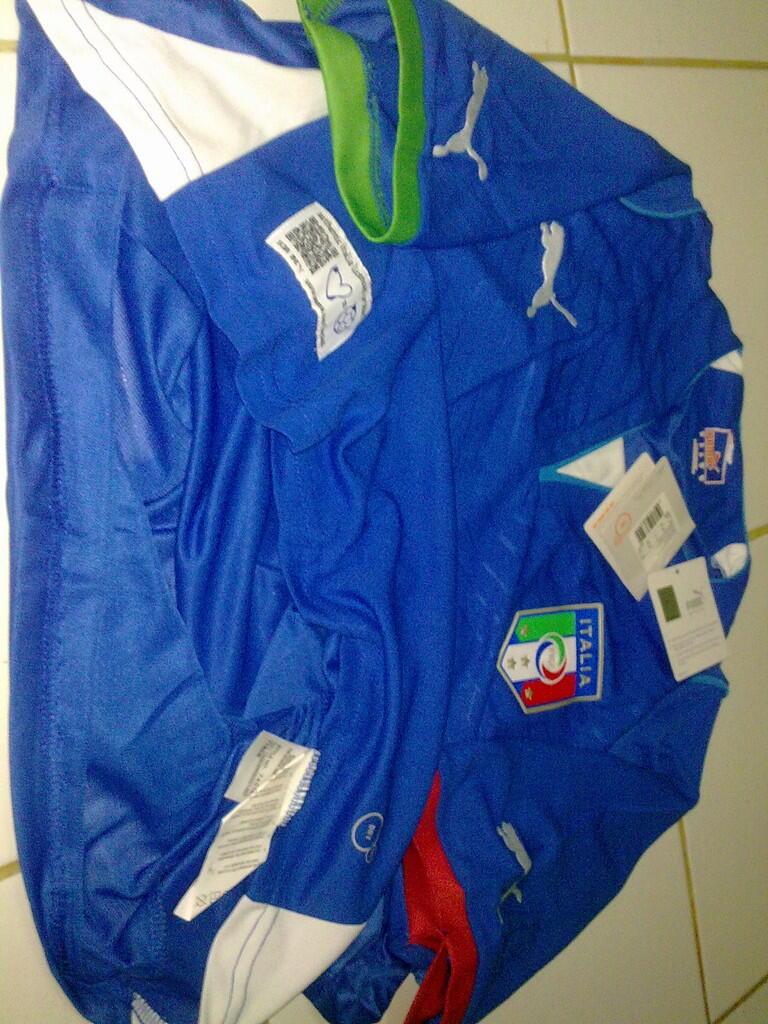 Jersey Grade Ori Italia Home Confederation Cup 2013