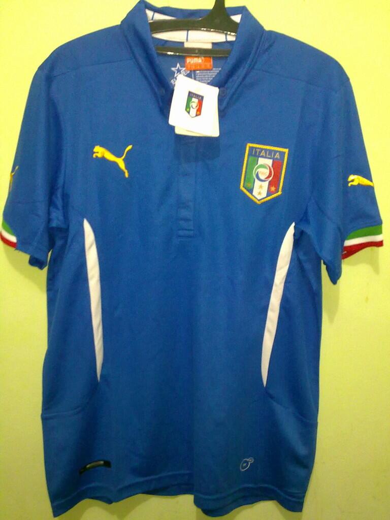 Jersey Grade Ori Italia Home World Cup 2014
