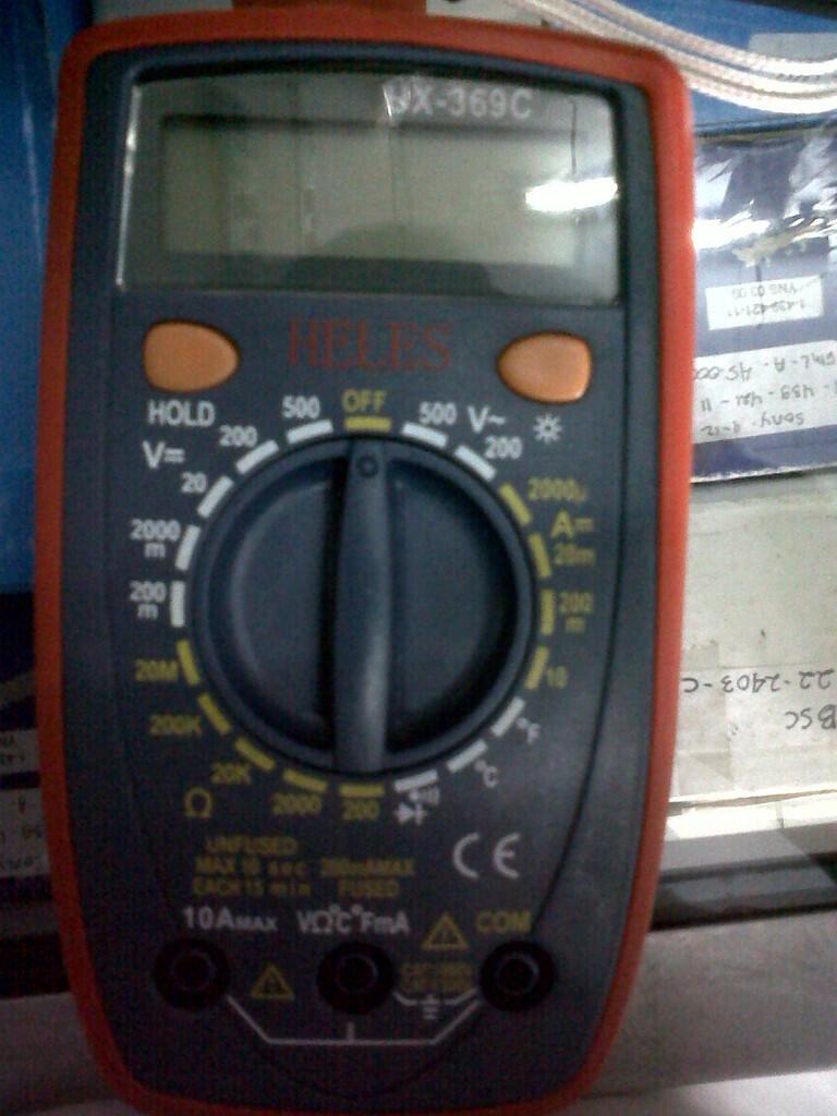 MULTITESTER DIGITAL HELES UX-369 AWET&MURAH