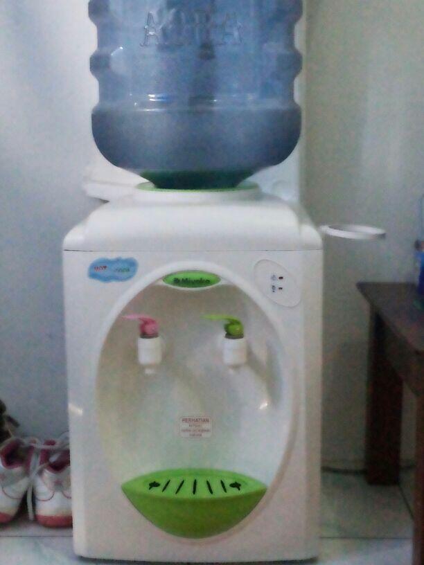WTS dispenser miyako hot&cool ex Kosan + galon