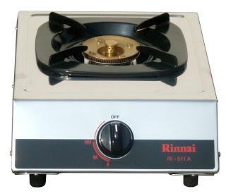 Rinnai Kompor Gas 1 Tungku – RI511A