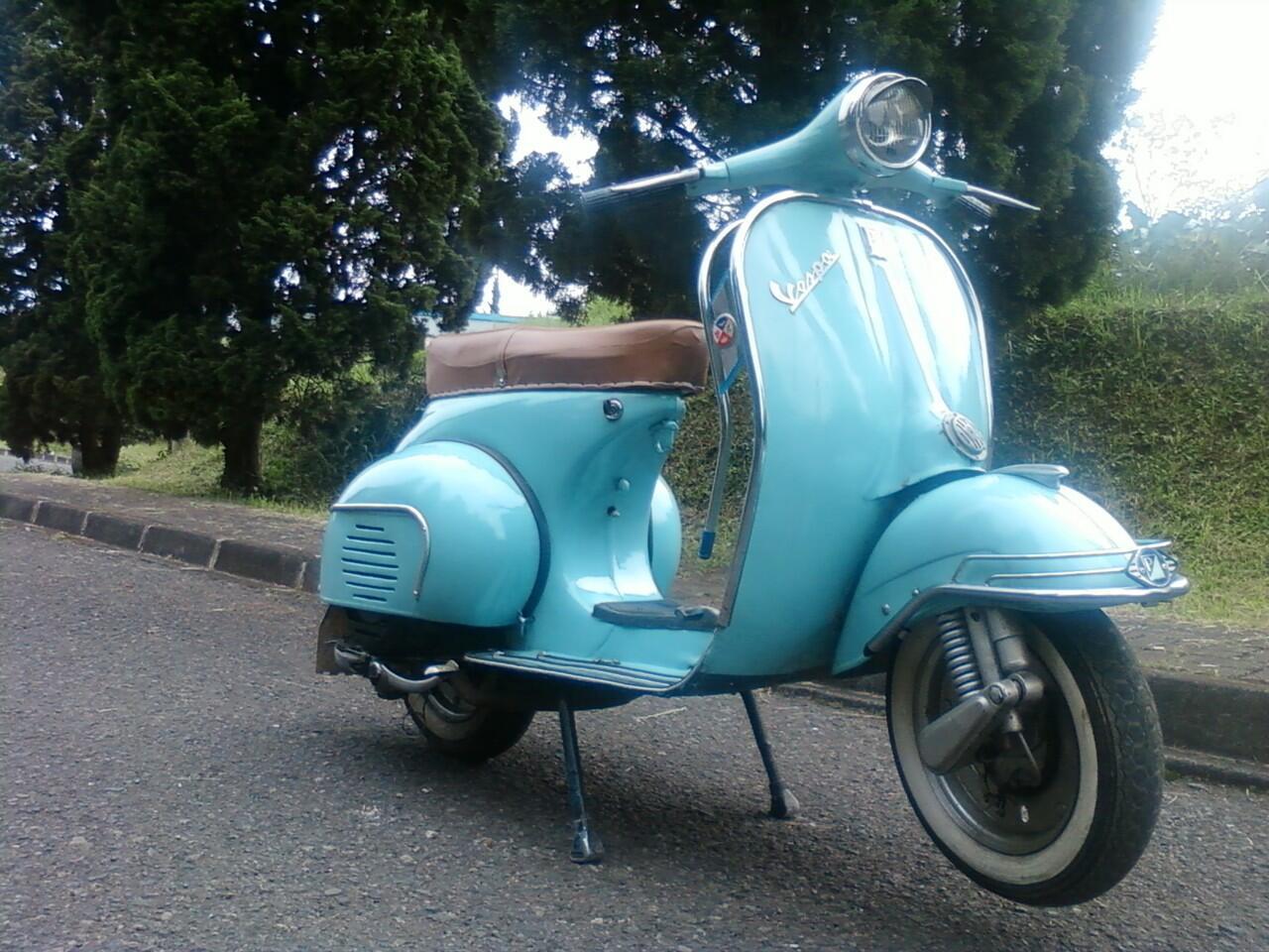 Turun Harga Vespa   Ganteng Original Look Classic