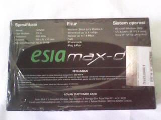 OBRAL MURAH MODEM ESIAmax-d REV-A FREE 6,5GB/30HARI BARU 100%