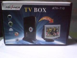 TV TUNNER UTK MONITOR & LCD ADVANCE T710 BARU 100% FSET