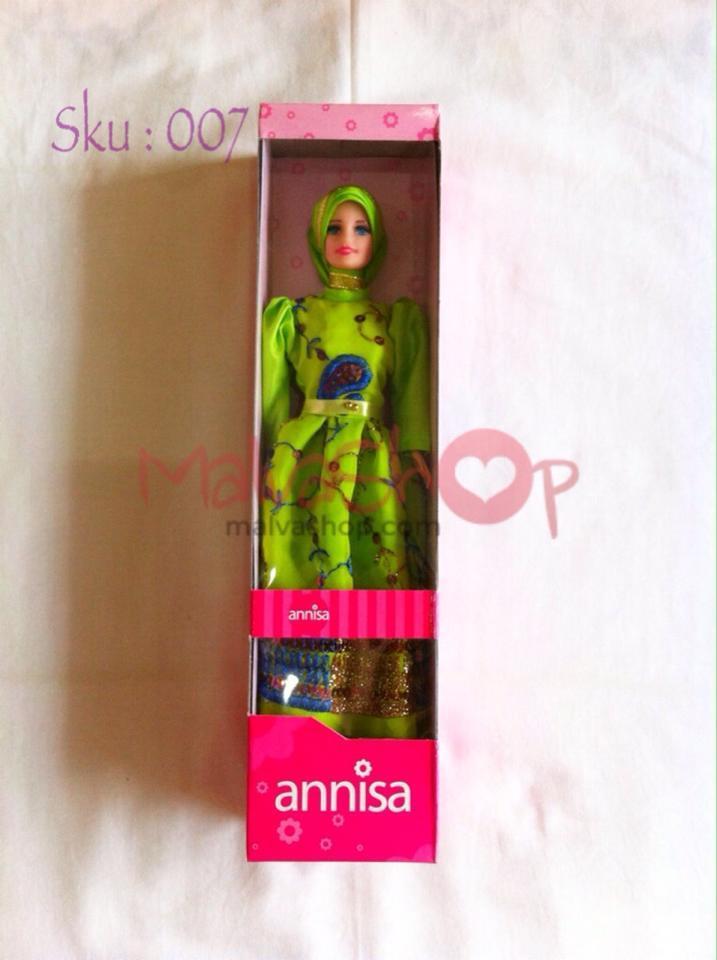 Boneka Barbie Muslimah dengan Berbagai Profesi, Dokter, Guru, Chef, Koki dan Polisi