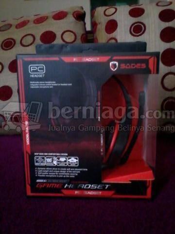 Headset Gaming Sades SA-712