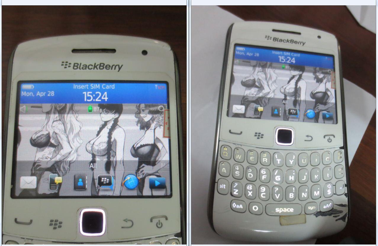 BlackBerry Apollo 9360 eks Garansi CTN murah jual santai