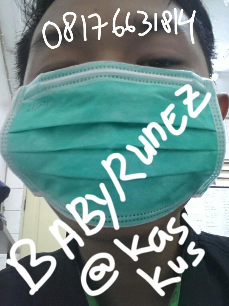 dijual masker anti bakteri. 3 lapis,tebal. cocok untuk biker atau yang sakit
