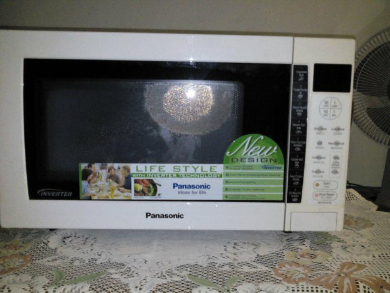 microwave panasonic