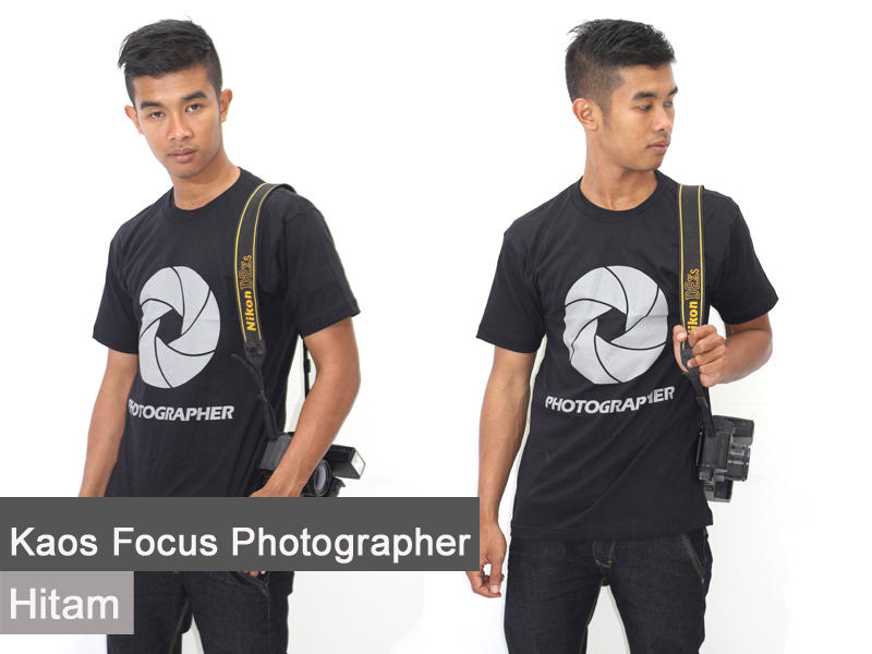 ◄◄◄ Kaos Wajib Photographer NATIONAL GEOGRAPHIC [Great Quaity - Ready Stock] ►►►