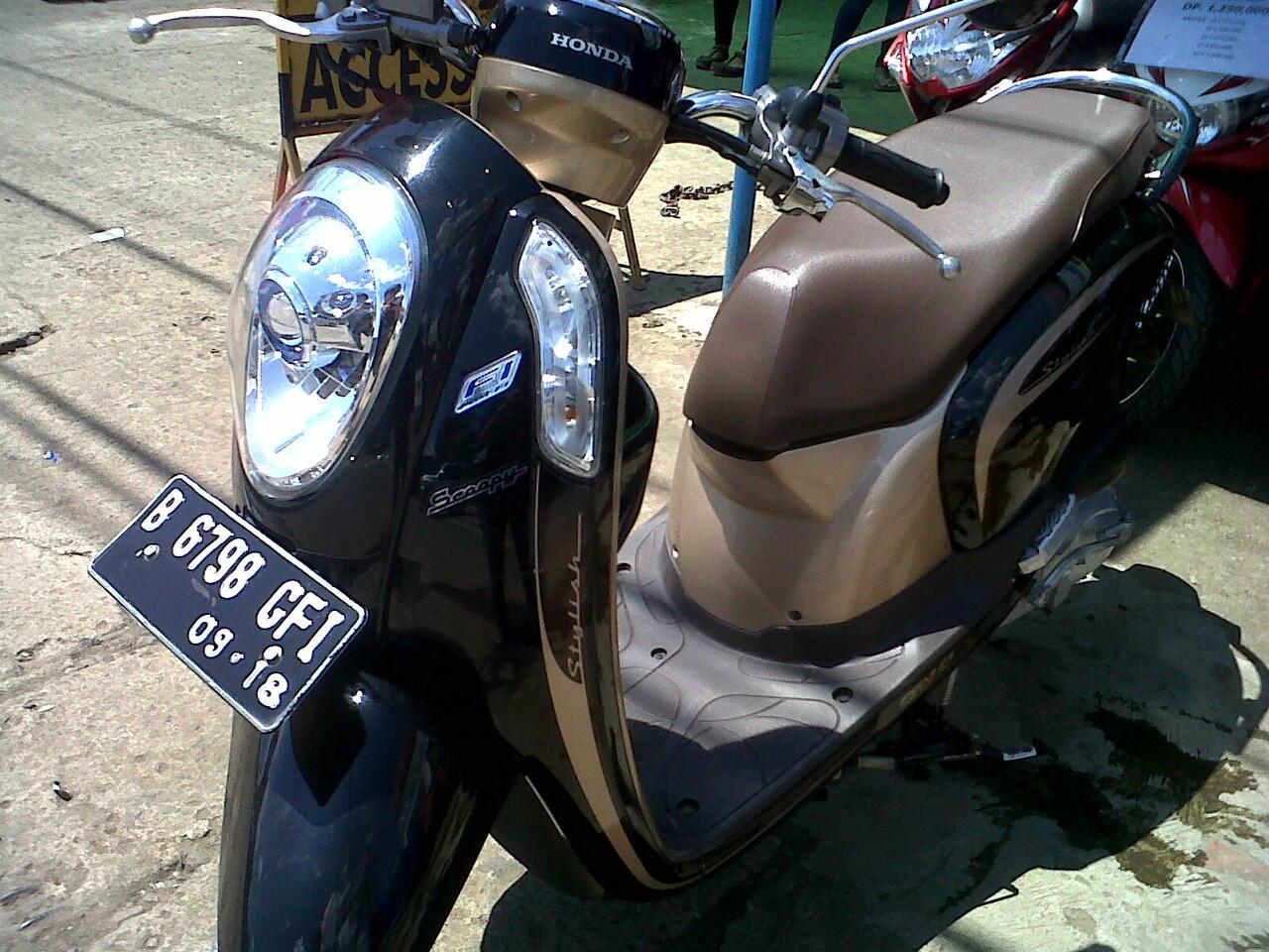 Terjual MOTOR BEKAS & KREDIT MURAH HONDA SCOOPY FI 2013 ...
