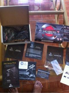 VGA xfx 6570 ddr3 1gb