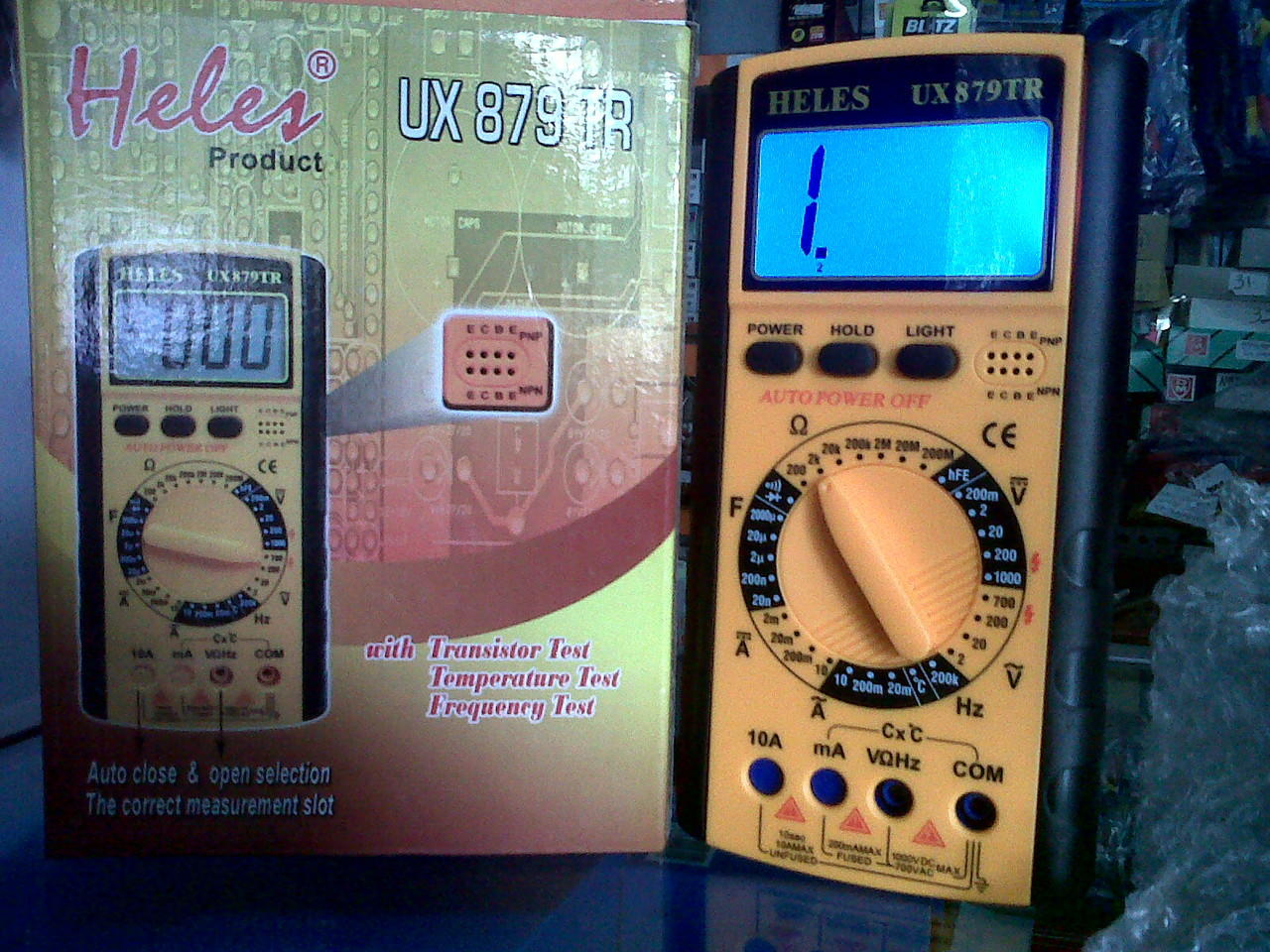 MULTITESTER DIGITAL HELES UX879TR