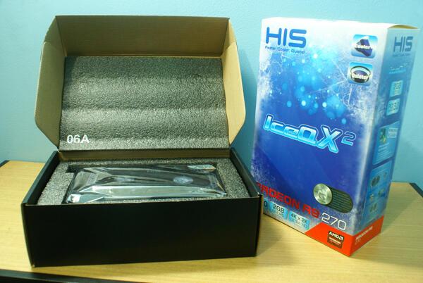 BNIB HIS IceQ X2 RADEON R9 270