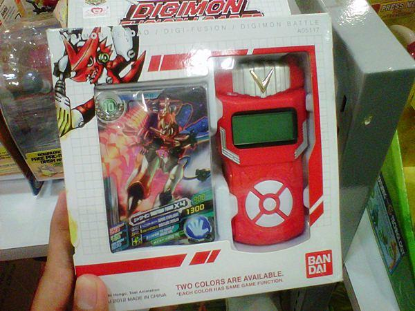 DIGIMON FIGURES + DIGIMON RELOAD XROS RED
