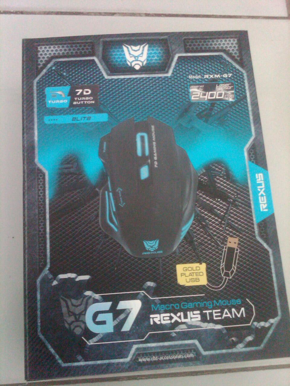 MOUSE MAKRO GAMING REXUS RXM-G7