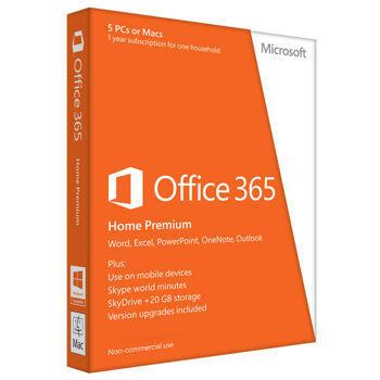 jual software original microsoft office 365 home premium 32/64 bit