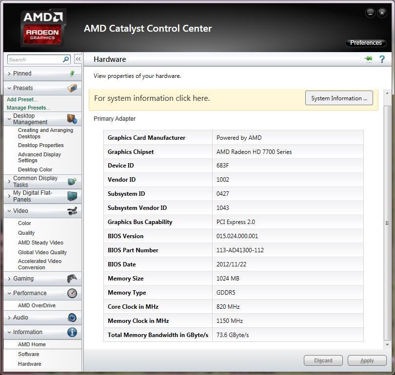 WTS ASUS HD 7750 1 GB GDDR5, garansi panjang