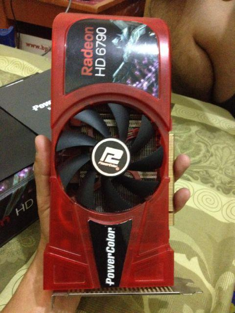 WTS VGA POWER COLOR HD 6790 256 bit BANDUNG