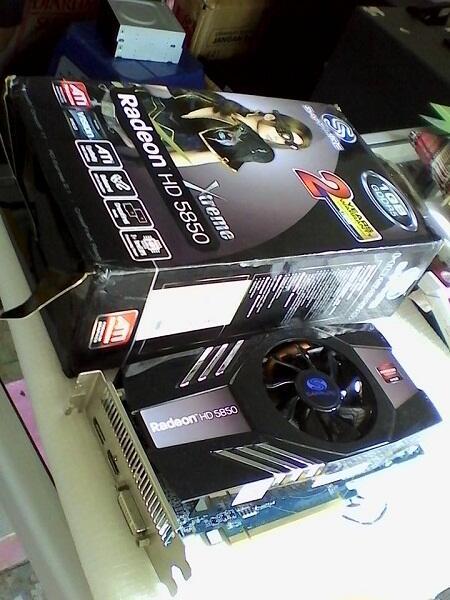 2nd ~ Saphire HD 5850 --- dewaaaaa