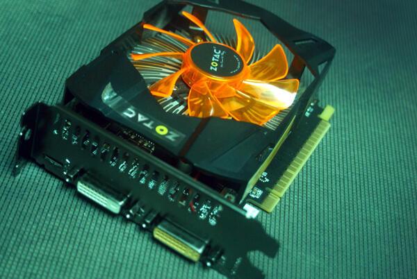 VGA Zotac GTX 650 Ti 1GB DDR5 Like New!!