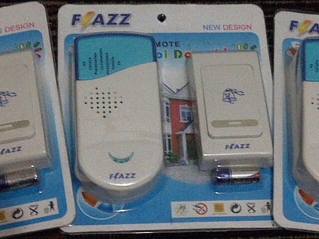Bel wireless Listrik 1 remote