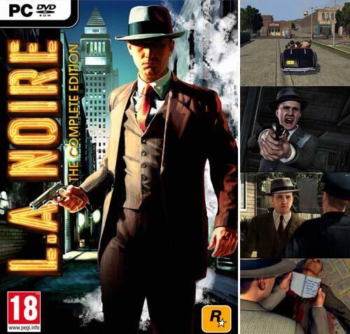 JUAL GAME LA NOIRE THE COMPLETE EDITION PC !!!