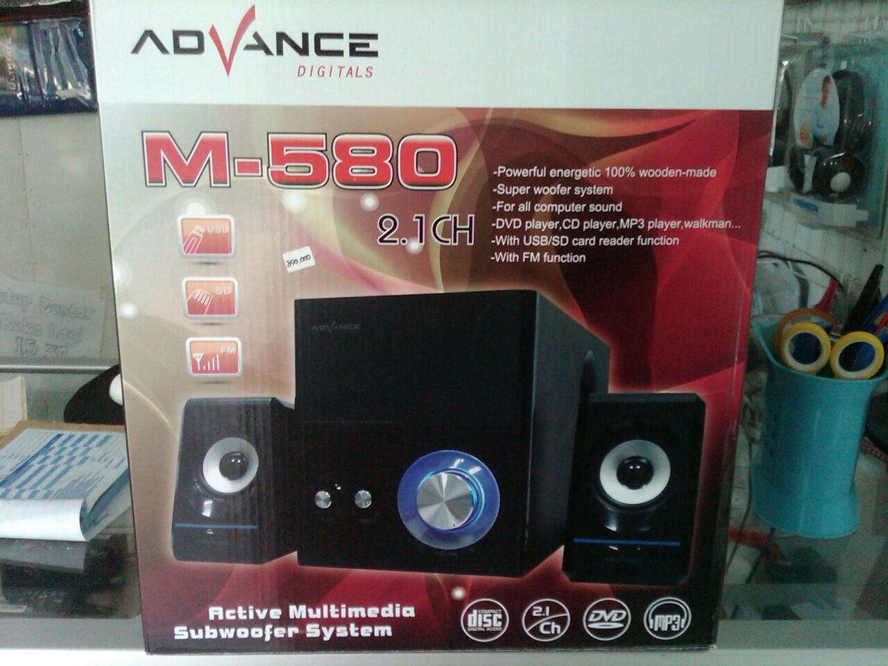 SPEAKER ADVANCE M580
