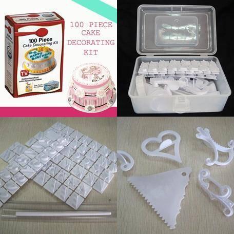 >>>> Cake Decorating Kit >>>>