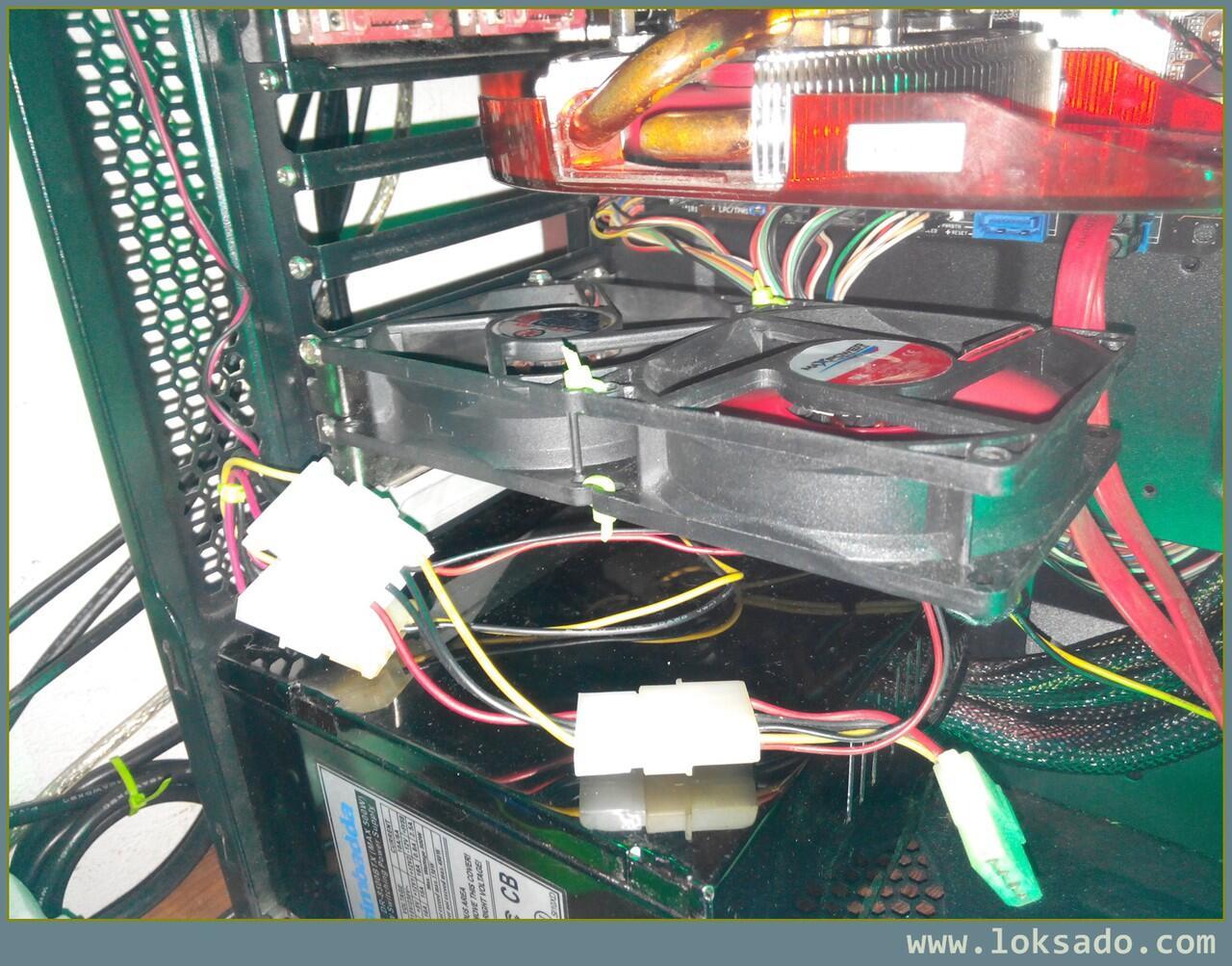 Cara hemat bikin sendiri pendingin VGA Card
