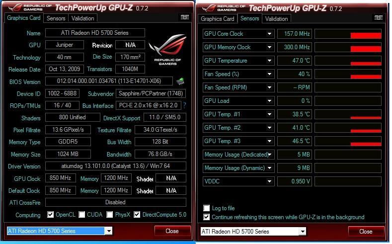 VGA Sapphire Ati Radeon 5770 1gb 128bit