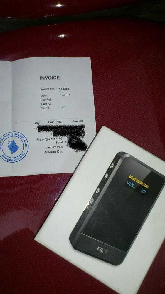 FIIO E07K ANDES PORTABLE USB DAC HEADPHONE AMPLIFIER baru pakai 1bulan setengah