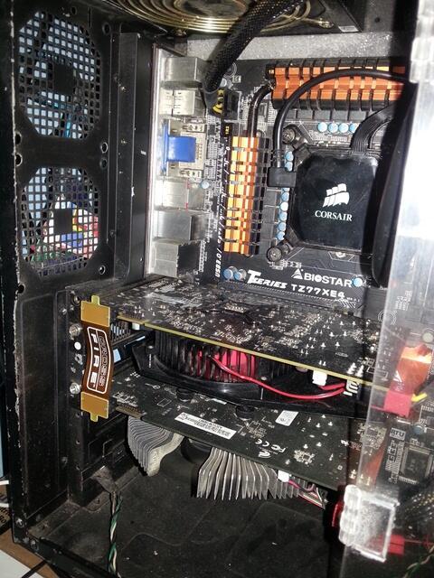 JUAL Sepasang HD 5750 ASUS FEAT XFX