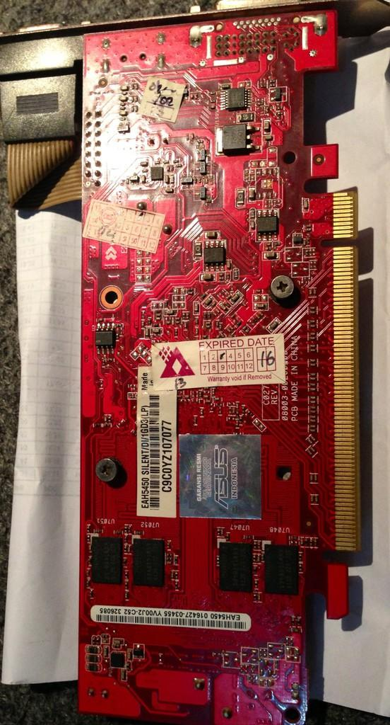 VGA PCI EX 1GB & 512 MB MUMER
