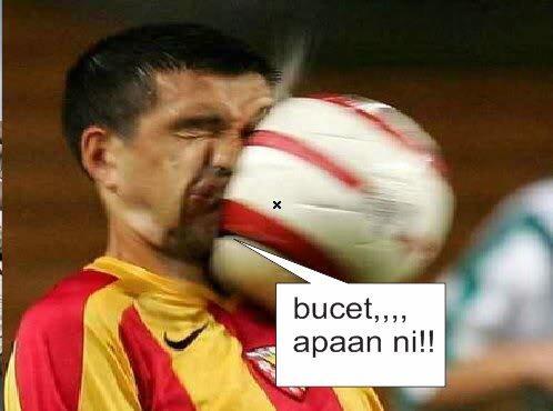 [Pict] Momen kocak di sepakbola + dialog