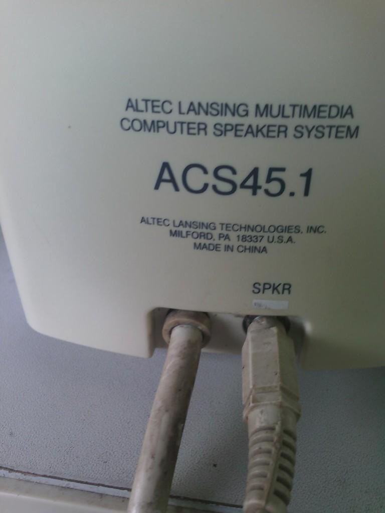 Speaker PC Multimedia Altec Lansing ACS 45.1 solo murah