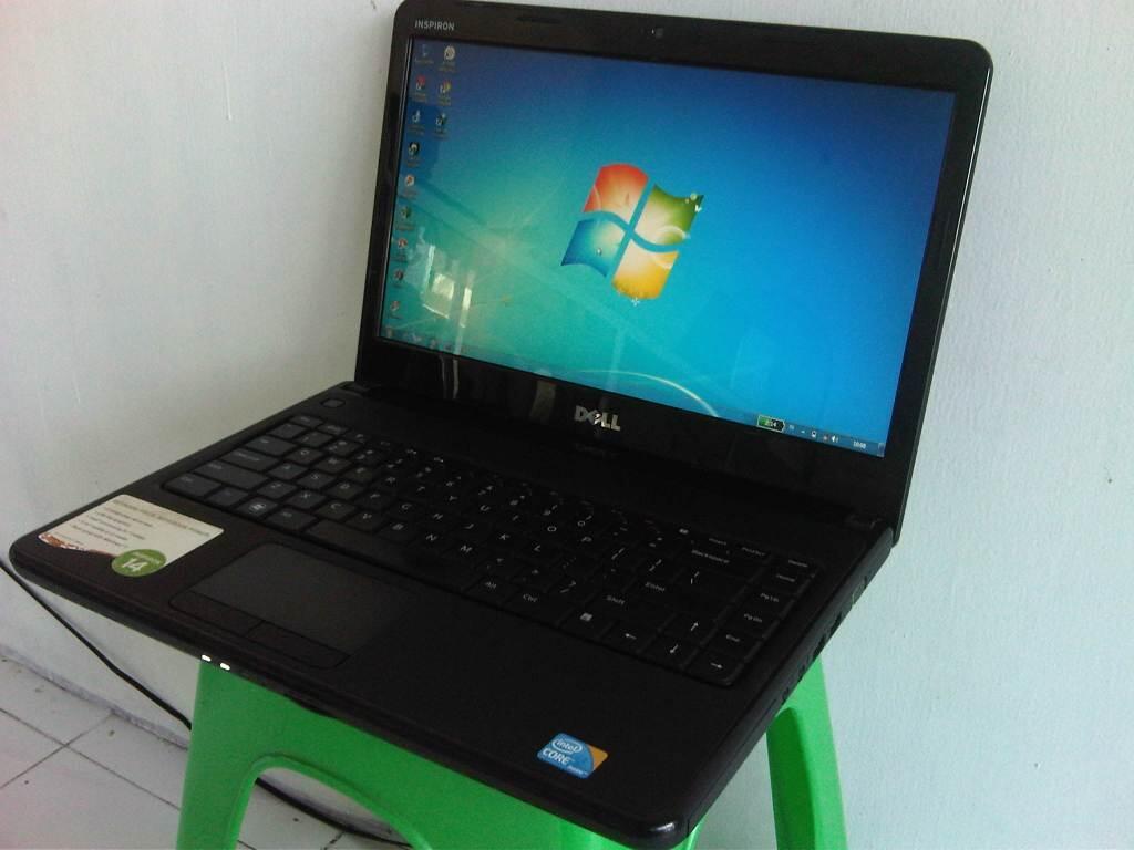 Laptop Dell Core i3 DDR3 2 GB HDD 500 GB Mulus