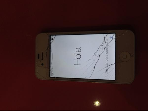 Iphone 4s 16gb white second