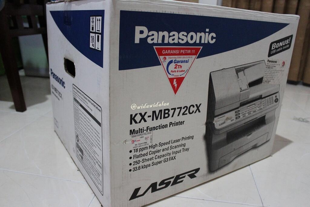 MULTIFUNCTION LASER PRINTER PANASONIC KX-MB772CX