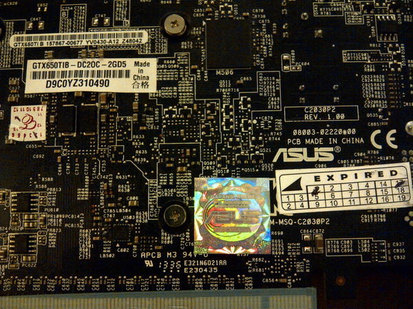 Pixelview GT630 4gb DDR3 / Pixelview GTX650 2gb GDDR5 / ASUS GTX650Tiboost 2gb GDDR5