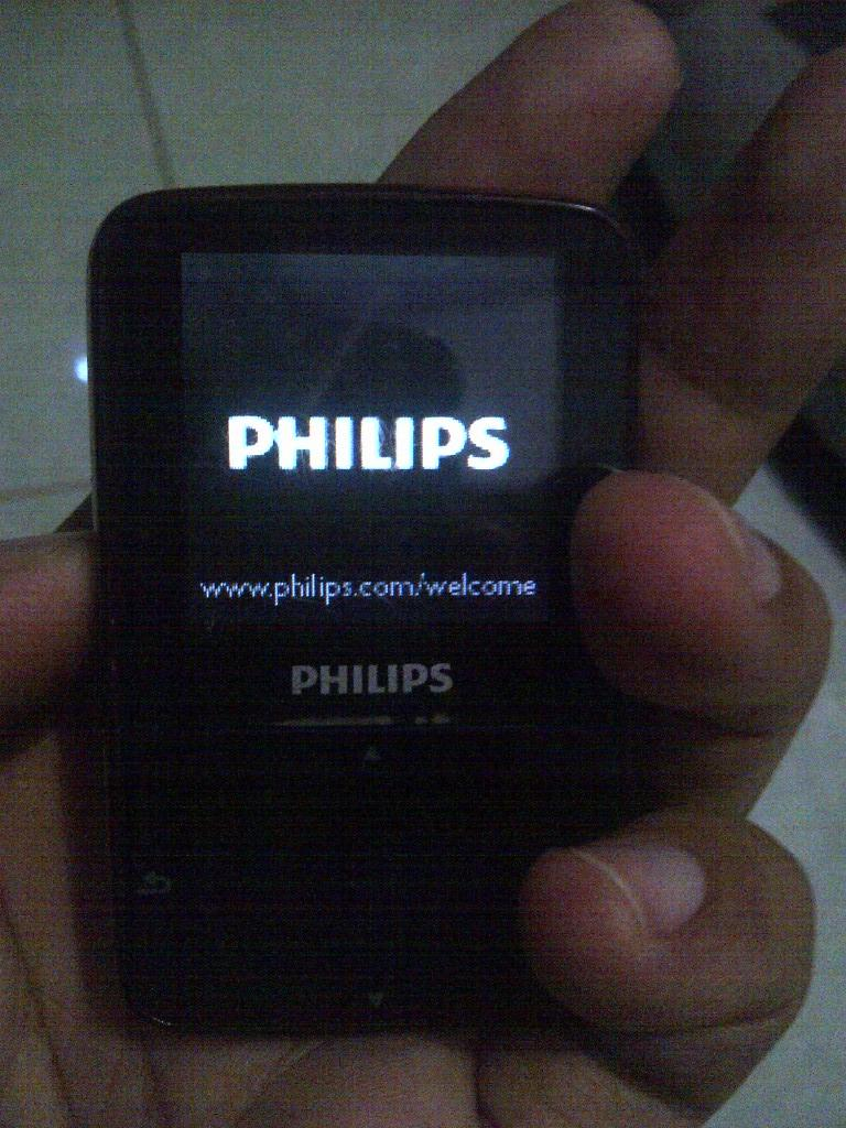 MP3 Player Philips GOGEAR