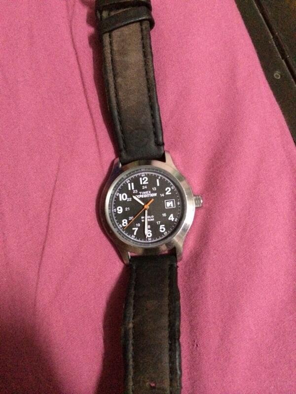 Terjual Jam timex expedition indiglo watch original murahhh  84c12b3d76