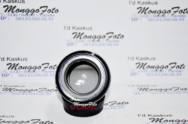 NEW STOCK Lensa Manual Nikon 50mm F1.4 Ai (bisa Canon, Sony dan Nex)