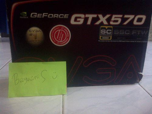 EVGA GeForce GTX 570 Superclocked 1280 MB GDDR5
