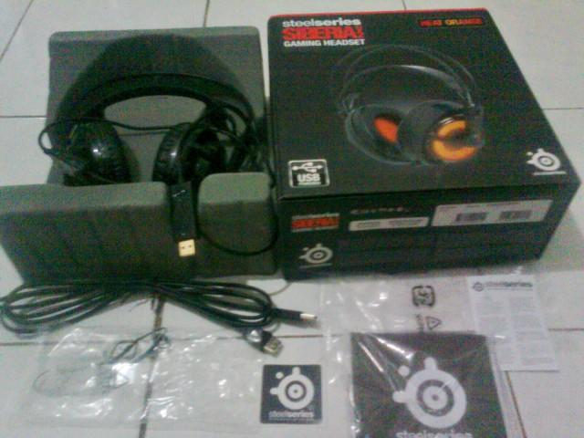 Steelseries Siberia V2 HeatOrange