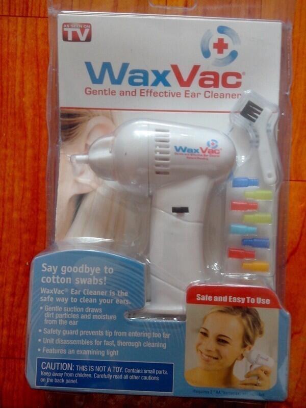 ::: WAXVAC EAR VACUM CLEANER - PENYEDOT KOTORAN TELINGA ::