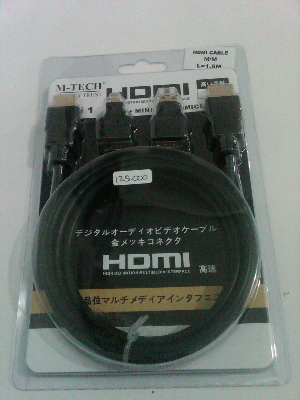 HDMI 3 IN 1 (MINI HDMI , MICRI HDMI , HDMI)