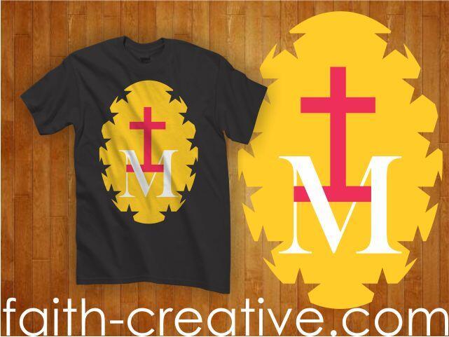 Terjual JUAL kaos baju rohani kristen / katolik desain